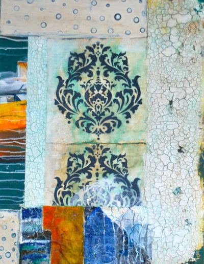 """Toledo"" | Mischtechnik auf Leinwand | 80 x 60 cm"