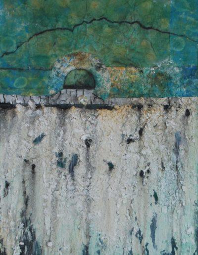 Wasserwelten II | Mischtechnik auf Leinwand | 70 x 50 cm