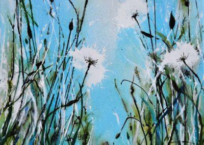 Zyklus Wiese | Acryl auf Leinwand | 30 x 30 cm | verkauft