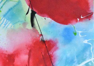 Luftig | Acryl auf Leinwand | 40x80