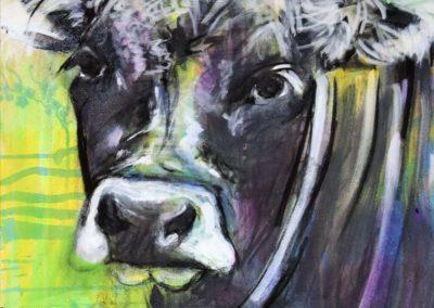 Grauvieh | Acryl auf Leinwand | 50x70cm