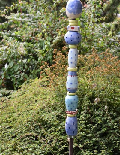Stehle blau | Keramik | Steinzeug